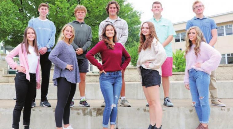 The Burnet High School Homecoming Court