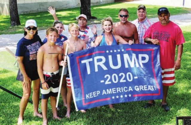 A group of organizers launched a local effort to show support for the country and President Donald J. Trump on July 5 on Lake LBJ. Another event is tentatively planned for Labor Day, Sept. 7. Contributed